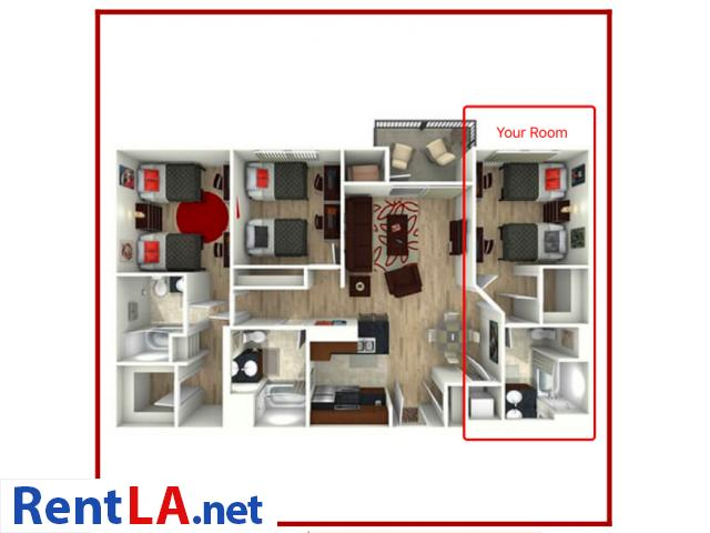 Sublet Private Room at Lorenzo, near USC - 8/8