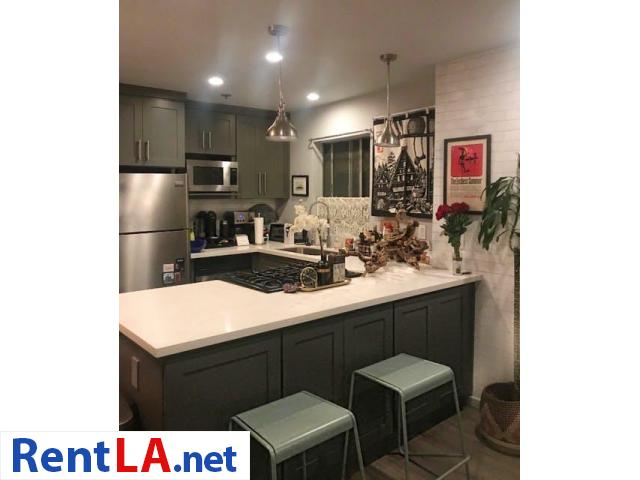 Modern 1 bedroom w/ private bath - walk to Downtown Culver City - 3/7