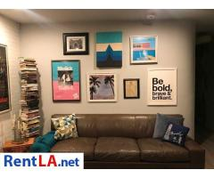 Modern 1 bedroom w/ private bath - walk to Downtown Culver City - Image 4/7