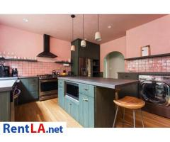 4 bedroom fully furnished house in Los Feliz