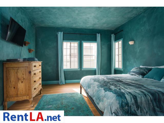 4 bedroom fully furnished house in Los Feliz - 7/20