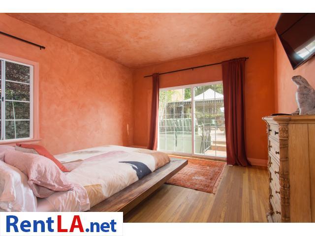4 bedroom fully furnished house in Los Feliz - 9/20
