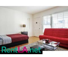 Fully furnished studio in Westwood