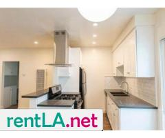 Master bedroom in newly renovated 2b/2br West LA apartment